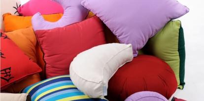 Bavlněný polštář