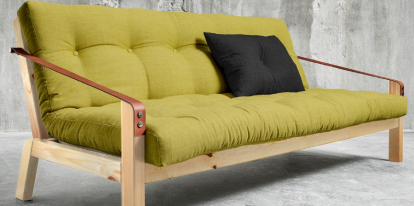 Wooden sofa Karup Poetry 130×190